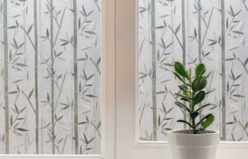 Install A Decorative Window Film Once Again Five Simple